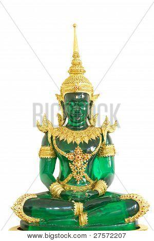 Colse-up Emerald Buddha Image
