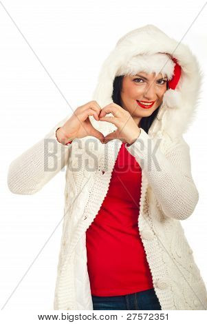 Woman Love Winter Season