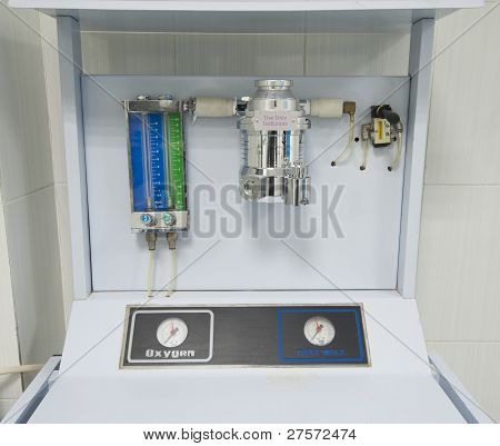 Anesthetic Machine In A Hospital