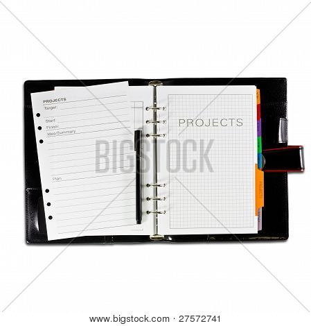 Projects Diary Book