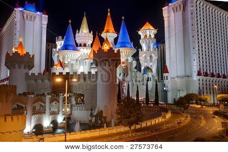 Las Vegas, Nv -  April 10: Excalibur Hotel And Casino On April 10, 2011 In Las Vegas, Nevada. Its Ow