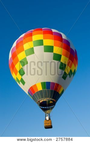 Mutlicolor Hot Air Balloon
