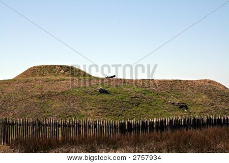 Battleground Mound At Fort Fisher State Park