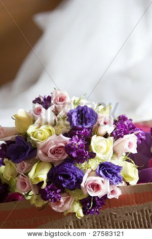 Mix Of Wedding Flowers