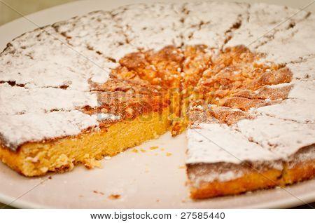 Santiago tart