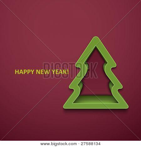 Peles-árvore de Natal. Versão JPEG.