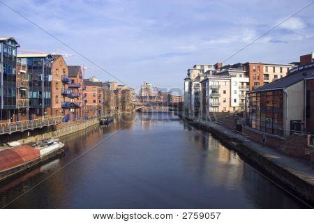 Leeds, Waterfront, Yorkshire , Uk