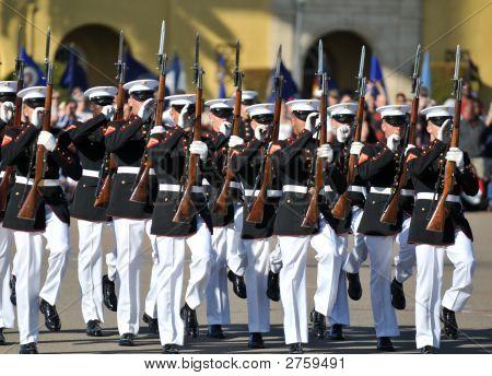 United States Marine Corps Silent Drill Team