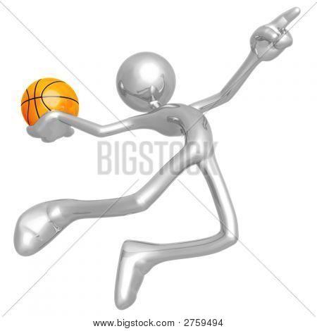 Basketball Calling The Shot Slam