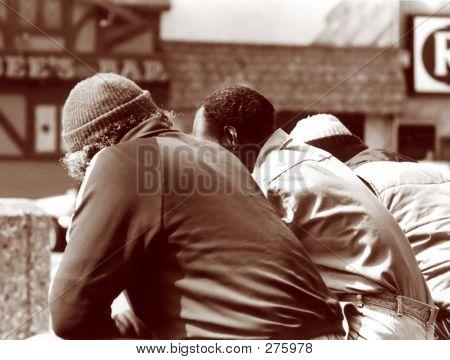 Three Men On The Street