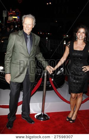 LOS ANGELES - NOV 3: Clint Eastwood, wife Dina Ruiz at the AFI Fest 2011 Opening Night Gala World Premiere of 'J. Edgar' at Grauman's Chinese Theater on November 3, 2011 in Los Angeles, California