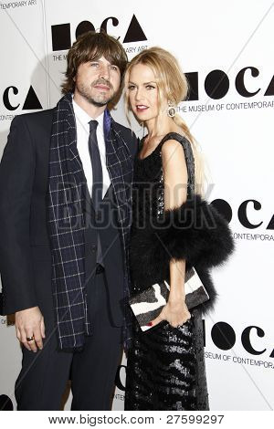 LOS ANGELES - NOV 12: Rachel Zoe; Rodger Berman at the 2011 MOCA Gala, An Artist's Life Manifesto at MOCA Grand Avenue on November 12, 2011 in Los Angeles, California