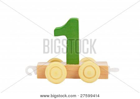 Wooden Toy Number 1