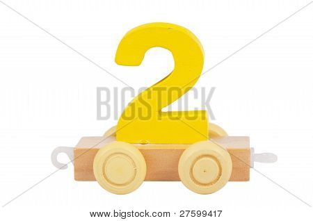 Wooden Toy Number 2