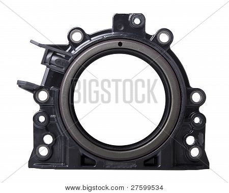Integrated rotary shaft seal