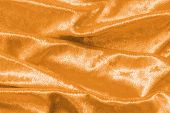 Copper Gold Velvet Background Or Golden Yellow Velour Flannel Texture Made Of Cotton Or Wool With So poster