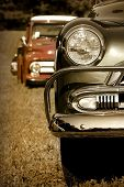 stock photo of muscle-car  - Classic Cars - JPG