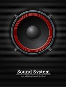 foto of diffusion  - sound loud speaker vector illustration - JPG