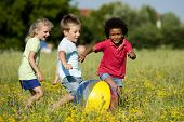 stock photo of children playing  - Multi - JPG