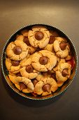 peanut butter cookies. Peanut Butter Blossom Cookie. Chocolate and Peanut Butter cookie. Christmas c poster