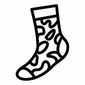 Army Sock Icon. Simple Illustration Of Army Sock Icon For Web Design Isolated On White Background poster