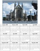 2008 Year Calendar Of Winchester Cathedral