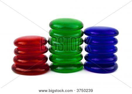 Abstract Glass Stacks