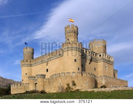 Manzanares el real Schloss 2