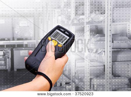 Scanner de código de barras