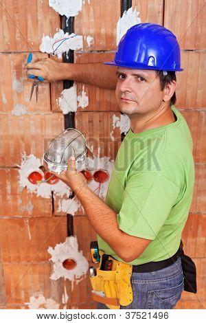 Instalación de cables eléctricos