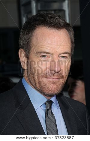 LOS ANGELES - OCT 4:  Bryan Cranston arrives at the