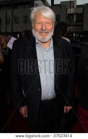 LOS ANGELES - OCT 4:  Theodore Bikel arrives at the