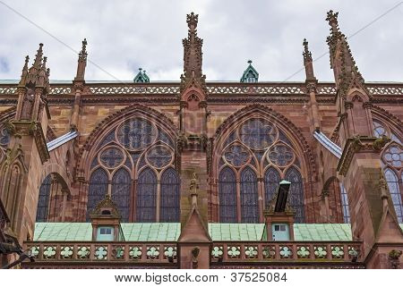 Notre Dame de Strasbourg detail
