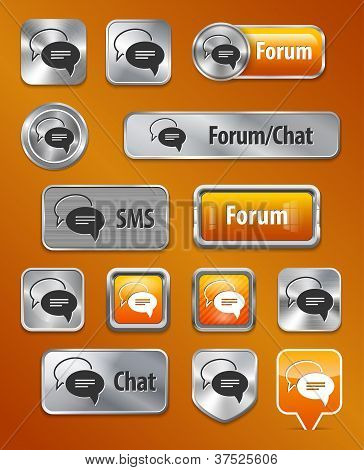 Forum/chat/sms Web Elements