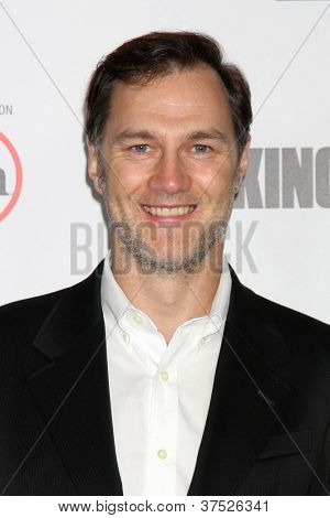 LOS ANGELES - OCT 4:  David Morrissey arrives at