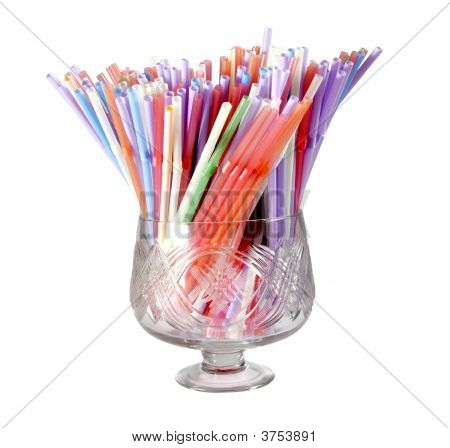 Multicolored Straws