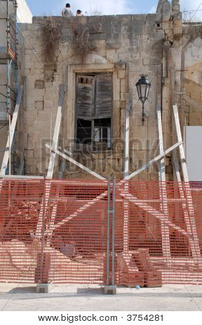 Derelict Building, Lecce
