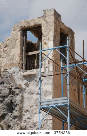 Restoration Work In Lecce