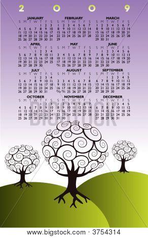 Tree Calendar