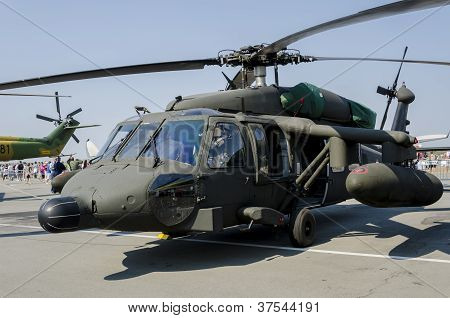 Sikorsky S-70a Black Hawk military helicopter