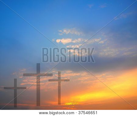 Sunrise And Easter Theme