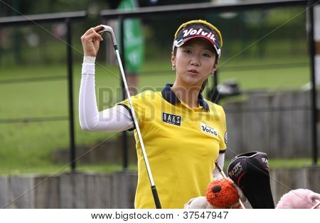 Kyeong Bae at Evian Masters, July 22, 2012