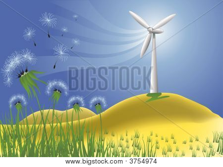 Wind Turbine - Clean Power