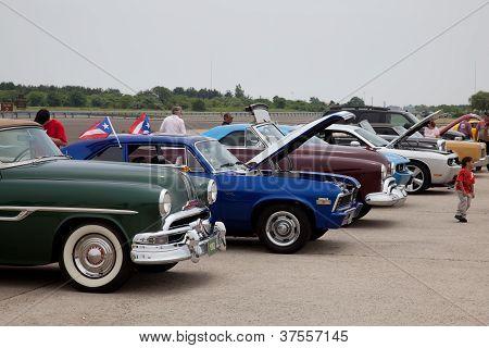 Vintage Car Show In Brooklyn