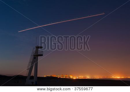 Takeoff At Night