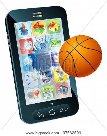 Basketball Ball Cell Phone