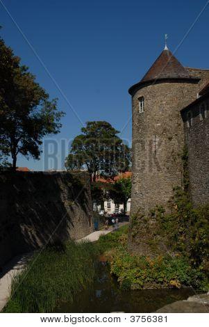 Boulogne Castle Medieval Walls