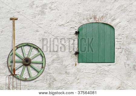Farmer's House Wall