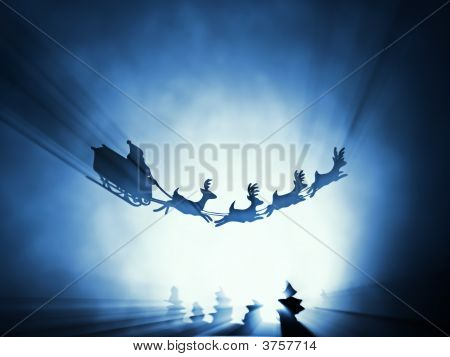 Flying Santa Sledge
