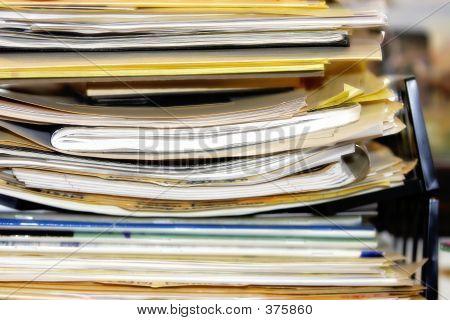 Montón de papeleo (ancho)